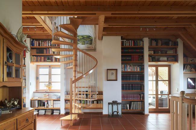 arthur bauer ihr schreinermeister referenz wendeltreppe. Black Bedroom Furniture Sets. Home Design Ideas